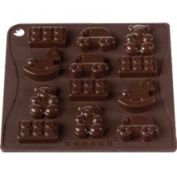 Pavoni ChocoIce Toys Silicone Mould