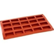 World Cuisine 47742-14 20-Sheet Silicone Financier Mould