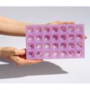 Chicago School Flavour Drops Silicone Mould 2.5cm