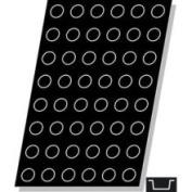 "Demarle F2266 Flexipan Mini Cylinder 25ml 40mm Diam x 20mm Deep (1-9/16"" Dia x 3/4"" Deep) 48 Cavities"