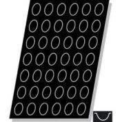 """Demarle F1052 Flexipan Quenelle (EGG) 30ml 60mm x 40mm x 25mm Deep (2-3/8"""" x 1-9/16"""" x 1"""" Deep) 42 Cavities"""