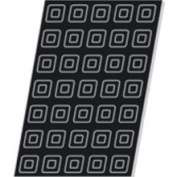 "Demarle F1105 Flexipan Square Savarin 45ml 56mm x 56mm x 24mm Deep (2-3/16"" x 2-3/16"" x 7/8"" Deep) 35 Cavities"