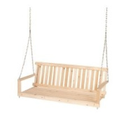 Jack Post Porch Swings Jennings 1.5m Traditional Wood Porch Patio Swing H-25