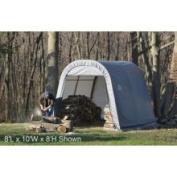 Shelter Logic 10 x 16 x 8 Round-Style Portable Shelter