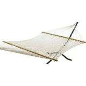 Algoma Net 2-Point Deluxe Cotton Rope Double 15 Hammock 106472