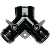Raindrip R616CT Y Connector Dual Shut-Off 1.9cm