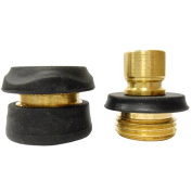 Gilmour Mfg 09QC Brass Quick Connect Set Solid Brass - Carded