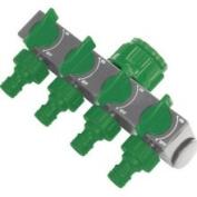 Silverline 167269 4-Way Tap Connector