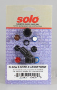 Solo 0610408-p Sprayer Elbow and Nozzle Assortment