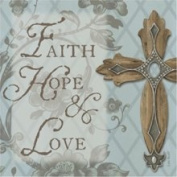 Faith, Hope, Love Trivet