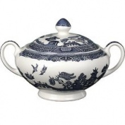 Johnson Brothers Willow Blue Covered Sugar Bowl