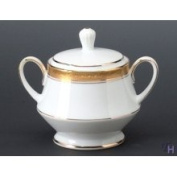 Noritake Crestwood Gold China - Sugar Bowl with Lid