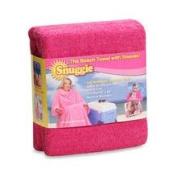 Snuggie Terrycloth Beach Towel in Pink Allstar Marketing Group
