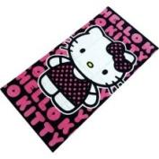Tnw Sanrio Hello Kitty Beach Towel 76.2cm x152.4cm