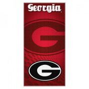Northwest NCAA Georgia Bulldogs Emblem Beach Towel