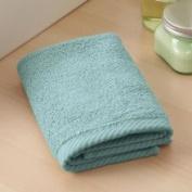 Home Source 10102WAB26 100 Percent Cotton Wash Cloth - Aqua