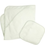 American Baby Company Cotton Terry Hooded Towel Set