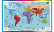 Explore the World Placemat