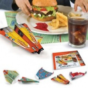 Fred & Friends Aeroplane Food Flying Placemats