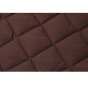 Southern Textiles 46SH100CHC Quilted Sham Cover One Quilted Sham Cover- Chocolate