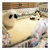 SnugFleece SnugSoft Imperial Crib Wool Mattress Topper