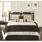 EverRouge Ivory Gramercy California King-size 8-Piece Comforter Set