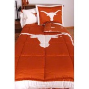 College Covers Texas Longhorns Reversible Comforter Set - Twin