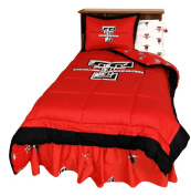 College Covers TTUCMKG Texas Tech Reversible Comforter Set -King