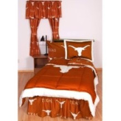 College Covers TEXBBTW Texas Bed in a Bag Full- With Team Colored Sheets