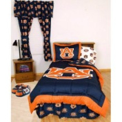 College Covers AUBBBKG Auburn Bed in a Bag King- With Team Colored Sheets
