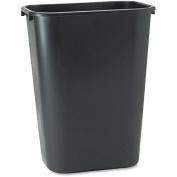 Rectangular Wastebasket,39l,27.9cm x38.7cm x50.8cm ,BK. 12 EA/CT.