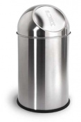 Blomus 68238 Stainless Steel Matt 9.8l Pushman Garbage Can