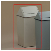 136.3l Metal Series WasteWatchers Swing Top Receptacle Finish