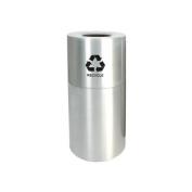 Witt Industries AL35-CLR-R Decorative Aluminum Series Large Recycling Receptacle