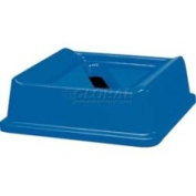 Rubbermaid FG279400DBLUE - Untouchable Paper Recycling Top, 51.1cm