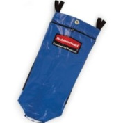 Rubbermaid FG9T9300 Blue - 128.7lRecycling Bag w/ Universal Recycle S