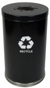Witt Industries 18RTBK-1H 18 W Single Stream Recycling Unit with One Opening