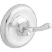 Best Value College Circle Double Robe Hook - Polished Chrome - 8902PC