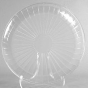 Clear Serving Platter, Round 45.7cm