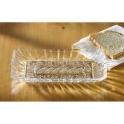 Crystal Clear Alexandria Bread Tray