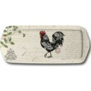Jason CLSW 431 Damask Rooster Sandwich Tray