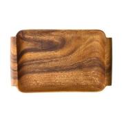 Pacific Merchants Acaciaware Acacia Wood 16 x 10 Serving Tray with