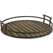 IMAX 10812 Vermont Iron and Wood Tray-Home Entertainer