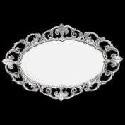 Arthur Court Designs Fleur-De-Lis Oval Serving Tray