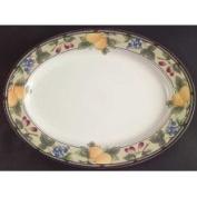 Mikasa Garden Harvest Oval Platter, 38.1cm