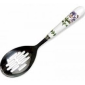 Portmeirion Botanic Garden Slotted Serving Spoon with Stainless Bowl