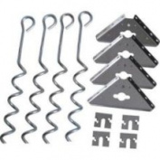 Arrow AK600, Corkscrew Ground Anchor Kit for Storage Sheds