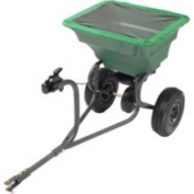 Precision Products TBS4000PRCGY Tow Behind Broadcast Lawn Spreader
