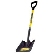 Seymour 28in. Fiberglass D-Grip Handle Professional Square Point Shovel SV-DS43