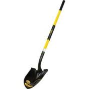 Truper 31198 Trupro Long Handle Fibreglass Round Point Shovel